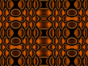 Op Art Digital Art Posters - Suspended Poster by Judi Suni Hall