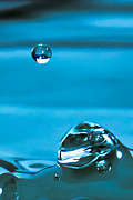 Water Droplet Framed Prints - Suspended Framed Print by Paul St George