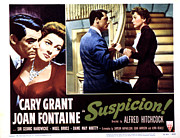 Arguing Prints - Suspicion, Cary Grant, Joan Fontaine Print by Everett