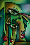 Urban Expressions Framed Prints - Suspicion Framed Print by Michael Lang