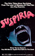 1970s Poster Art Framed Prints - Suspiria, Poster, 1977 Framed Print by Everett