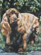 Sussex Prints - Sussex Spaniel Print by Lee Ann Shepard