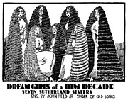 Sutherland Sisters Print by Granger