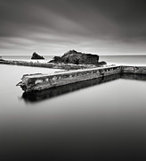 San Francisco Metal Prints - Sutro Baths Metal Print by JB Broccard