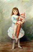 Suzanne Print by Pierre Auguste Renoir