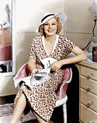 Beauty Mark Photo Prints - Suzy, Jean Harlow, 1936 Print by Everett