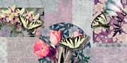 Home Paintings - Swallowtail Butterfly 1 by JQ Licensing