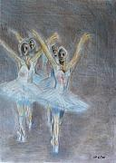 Swan Pastels - Swan Lake by Ioannis Macheriotis