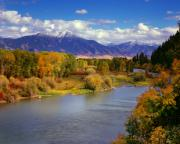 Idaho Prints - Swan Valley Autumn Print by Leland Howard