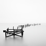 Rotting Photos - Swanage Pier by Doug Chinnery