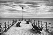 Piers Framed Prints - Swanage Pier Framed Print by Richard Garvey-Williams