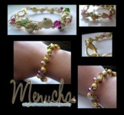 Handcrafted Jewelry - Swarovski Mania by Menucha Citron