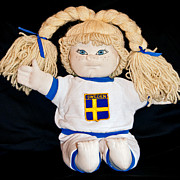 Hand Made Art - Swedish Doll Inga by Donna Proctor
