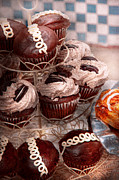 Platter Prints - Sweet - Cupcake - Cupcake mountain Print by Mike Savad