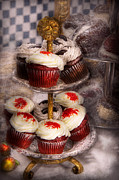 Gifts For A Baker Prints - Sweet - Cupcake - How much is that cake in the window Print by Mike Savad