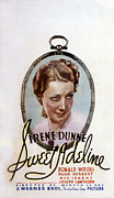 Postv Photos - Sweet Adeline, Irene Dunne, 1934 by Everett