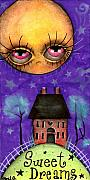 Folk  Paintings - Sweet Dreams by  Abril Andrade Griffith