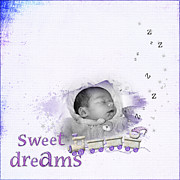 Joanne Kocwin Photo Posters - Sweet Dreams Poster by Joanne Kocwin