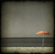 Beach Umbrella Prints - Sweet Escape Print by Evelina Kremsdorf