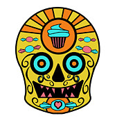 Sugar Skulls Digital Art - Sweet Head by Sugar Skull