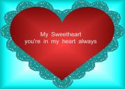Valentines Day Digital Art - Sweet heart by Garry Staranchuk