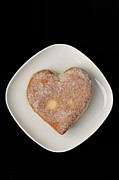 Jelly Donut Prints - Sweet heart Print by Matthias Hauser