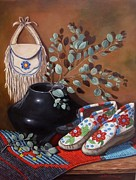Western Art Collector Originals - Sweet Legacy by Judith  Durr