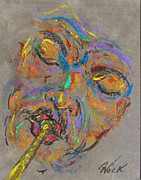 Blues Painting Originals - Sweet Lips by George Nock