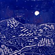 Mountain Ceramics Prints - Sweet Night Print by Jason Messinger