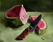 Food And Beverage Paintings - Sweet Repose by Diane Kraudelt