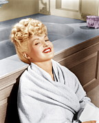 1943 Movies Photos - Sweet Rosie Ogrady, Betty Grable, 1943 by Everett