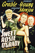 Grable Posters - Sweet Rosie Ogrady, Betty Grable Poster by Everett