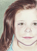 Color Pencil Drawings - Sweet Savannah by Laurel Nendza