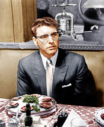 1957 Movies Prints - Sweet Smell Of Success, Burt Lancaster Print by Everett