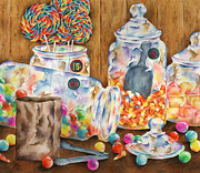 Lolly Pop Prints - Sweet Stuff Print by Michelle Carrick