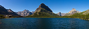 Large Scale Originals - Swiftcurrent Lake by Josh Lucas