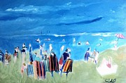 Seacape Originals - Swimmers Marthas Vineyard by Richard Seidel