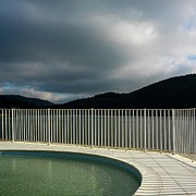 Stormy Art - Swimming pool by Bernard Jaubert