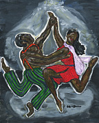 Harlem Paintings - Swing by S Goodwin