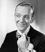 1936 Movies Prints - Swing Time, Fred Astaire, 1936 Print by Everett