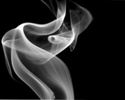 Smoke Art Prints - Swirl Print by Bryan Steffy