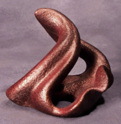 Clay Sculptures - Swirl Me Please by Lonnie Tapia