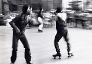 Skaters Prints - Swirl Print by Steven Huszar