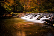 Ithaca Prints - Swirlpool Print by Neil Shapiro