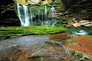 Adam Jewell - Swirls At Elakala Falls