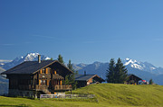 Alp Photos - Swiss alps - beautiful chalets by Matthias Hauser