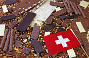 Swiss Posters - Swiss Chocolate Poster by Joana Kruse