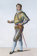 One Person Digital Art - Swiss Guard Captain by Hulton Archive