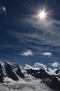 Swiss Mountain Print by Bruno Santoro