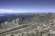 Mount Evans Framed Prints - Switchback Framed Print by David Bearden